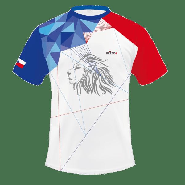 Národní běžecký dres B+2021 a čelenka