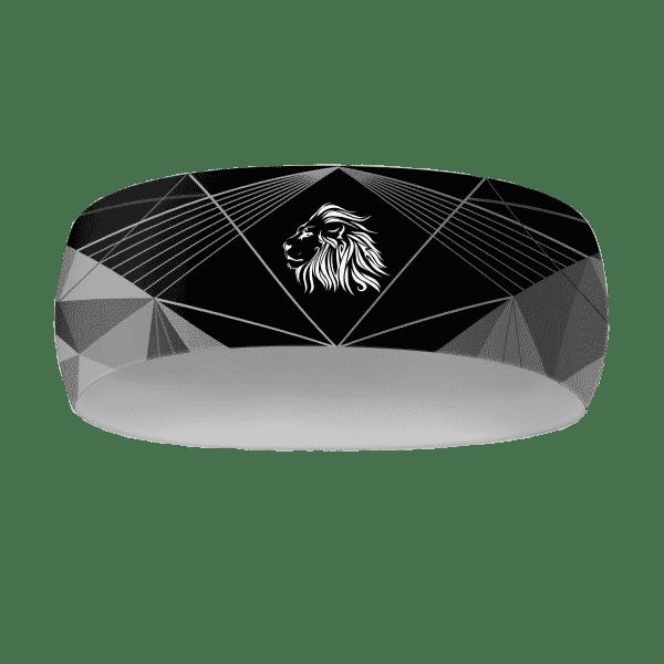 Černý běžecký dres B+ 2021 a čelenka