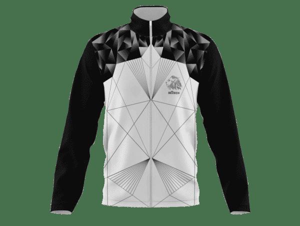 Běžecká bunda Black & White B+2021