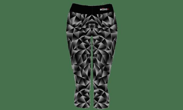 3/4 běžecké legíny Black & White B+2021 full