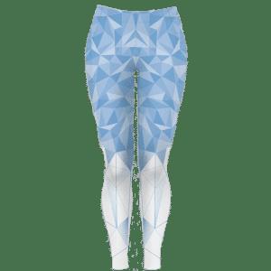 Dlouhé modré běžecké legíny B+2021