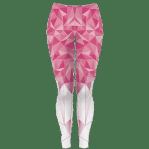 Dlouhé růžové běžecké legíny B+2021
