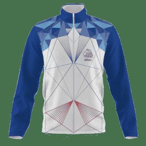 Běžecká bunda v národních barvách B+2021