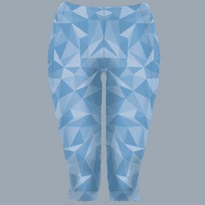 3/4 modré běžecké legíny B+2021 full