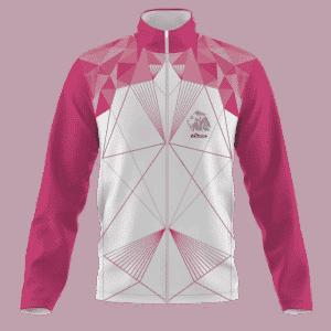 Běžecká bunda růžová B+2021
