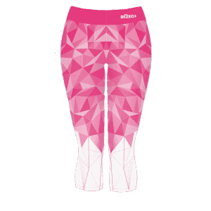 3/4 růžové běžecké legíny B+2021