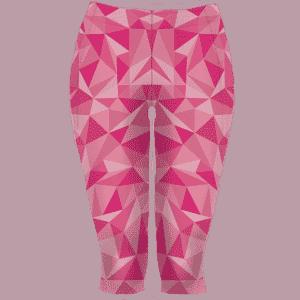3/4 růžové běžecké legíny B+2021 full