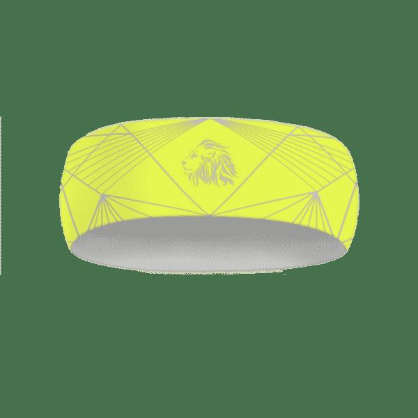 Neonově žlutá běžecká čelenka B+2021